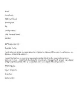 Professional Resignation Letter by Resignation Letters 35 Free Documents In Word Sle Templates
