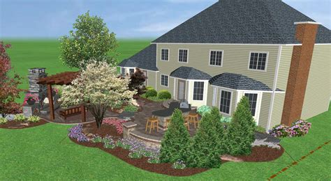 landscaping design software landscape creations