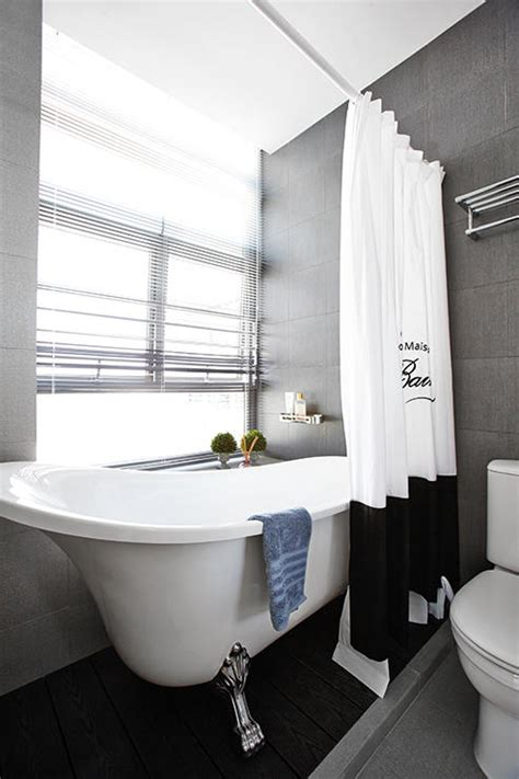 hdb bathtub singapore a monochrome hdb flat with a soft touch home decor
