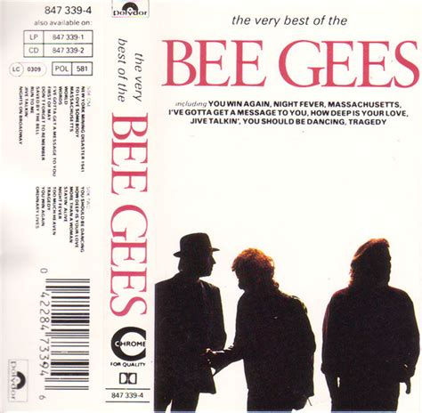 bee gees the best bee gees the best of the bee gees cassette at discogs