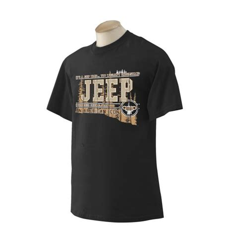 Jeep Attire Jeep Clothing 1072bls Jeep 174 American Icon With Grill