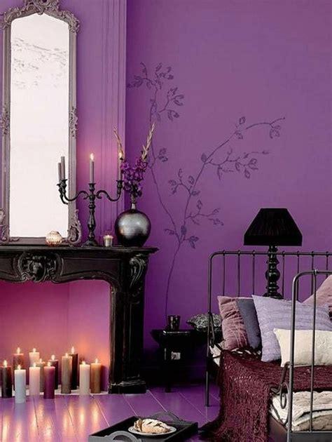 purple wall paint  variants homesfeed