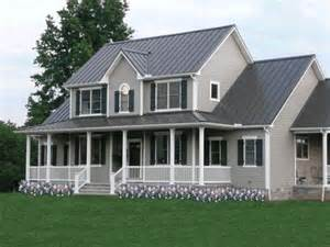 2 story farmhouse plans houseplans thayer 1 1 2 story farm house house plan details houseplans