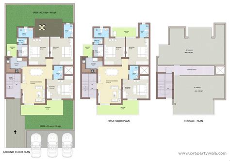 home maps design 400 square yard bptp park 81 sector 81 faridabad apartment flat