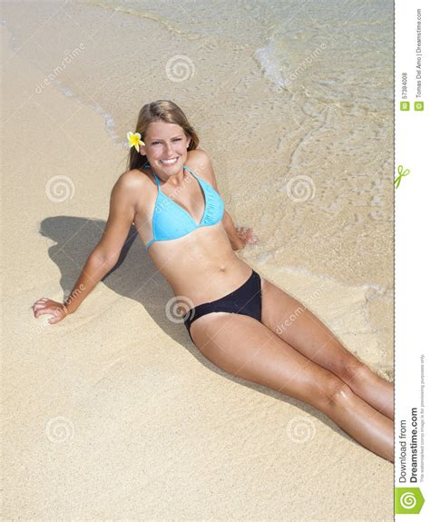 teen girls at the beach in swimsuits teenage girl at the beach stock photo image of flower