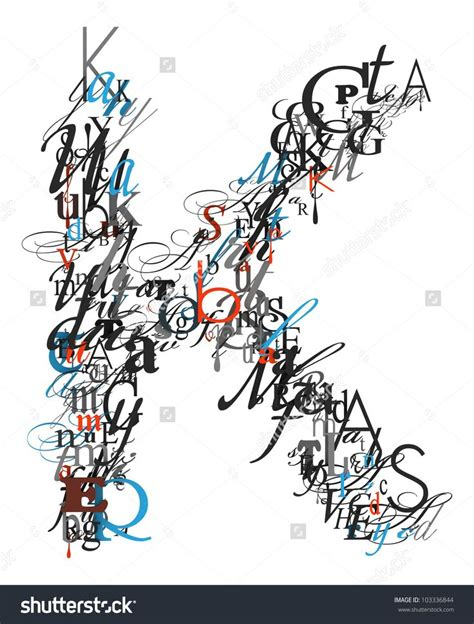 different letter fonts 1000 ideas about letter k font on fonts fall