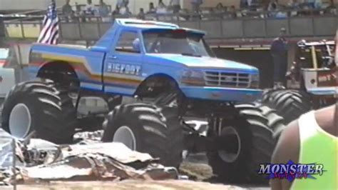Monster Truck Introductions Fresno Ca 1992 Youtube