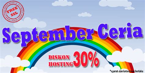 september ceria diskon hosting