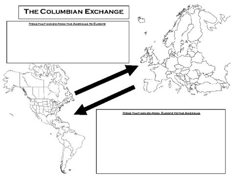 Columbian Exchange Worksheet by 1000 Images About Exploration Unit Pyp6 On