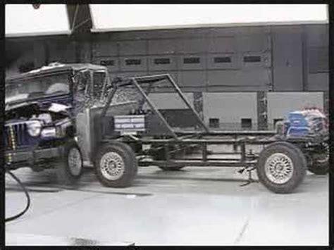 Jeep Wrangler Crash Test Crash Test 2011 20 Jeep Grand Side Impact Iihs