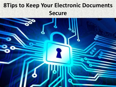 8 Tips To Keep From Arguing With Your Partner by 8 Tips To Keep Your Electronic Documents Secure