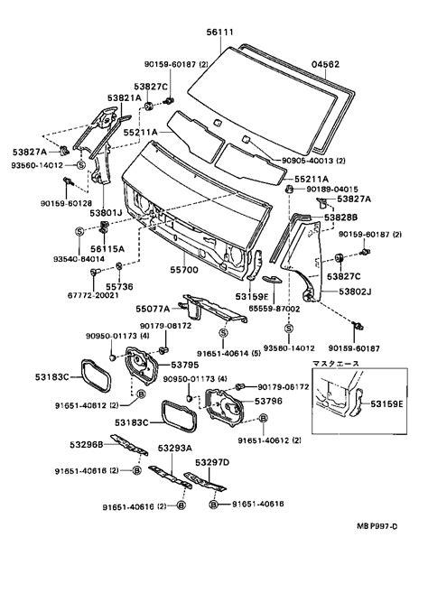 Interior Car Parts Diagram by Exterior Car Parts Diagram Exterior Free Engine