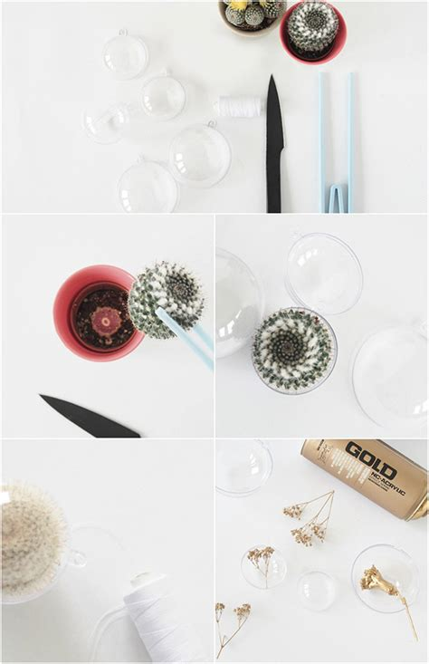 eclectic trends diy hanging light eclectic trends diy cacti ornaments with
