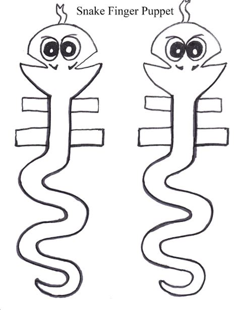 snake puppet template story puppets shadows and theatre