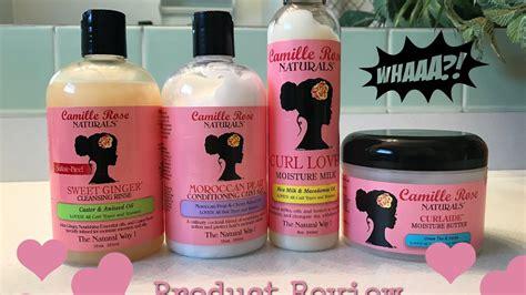natural hair products names camille rose naturals product review demo natural hair