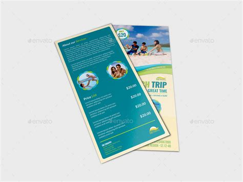 Tour And Travel Dl Size Flyer Template By Owpictures Graphicriver Dl Size Flyer Template
