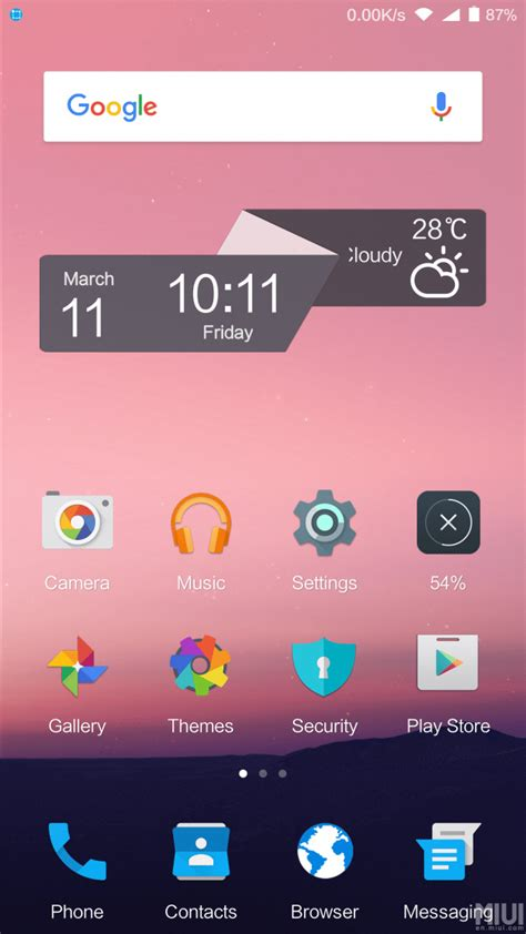 themes xiaomi download awesome android n theme comes to xiaomi devices direct