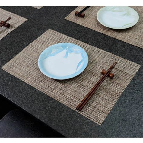 Plastic Table Mat by 4 Pcs Lot Eco Friendly Stain Resistant Plastic Table