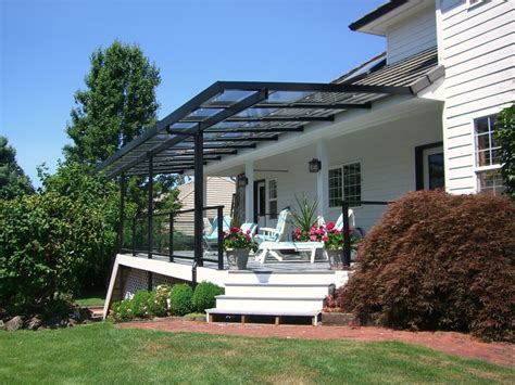 pergola glass roof interiors design