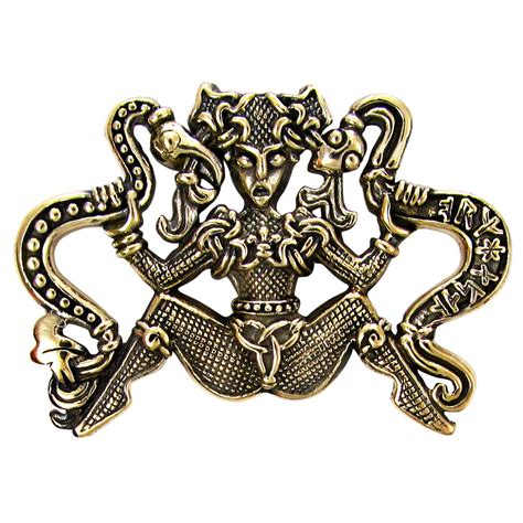celtic jewelry pagan jewelry wiccan and goddess jewelry bronze ormhaxan celtic snake witch goddess pendant naga