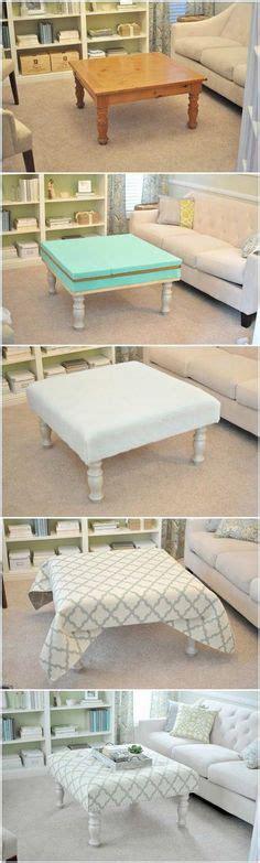 diy upholstered ottoman coffee table upholstered ottoman on ottomans ottoman