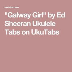ed sheeran galway girl chords quot the judge quot by twenty one pilots ukulele tabs on ukutabs