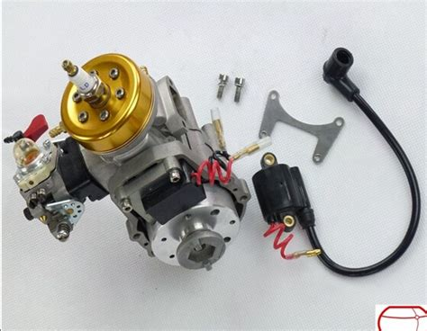 gas rc boat parts and accessories 29cc gasoline engine water cooled hydrocooling remote