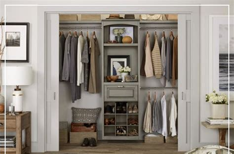 shop closet organization at lowes within premade