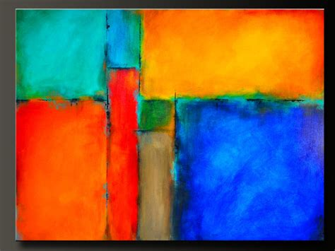 color block painting on hold for ivette color block 48 x 36 abstract acrylic