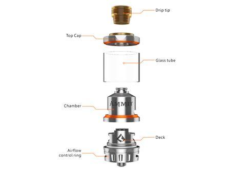 Ammit Dual Ss geekvape ammit dual coil rta postless deck vaping