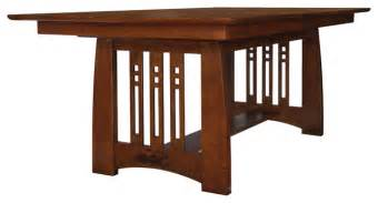 craftsman style dining room table stickley self storing dining table 89 91 598