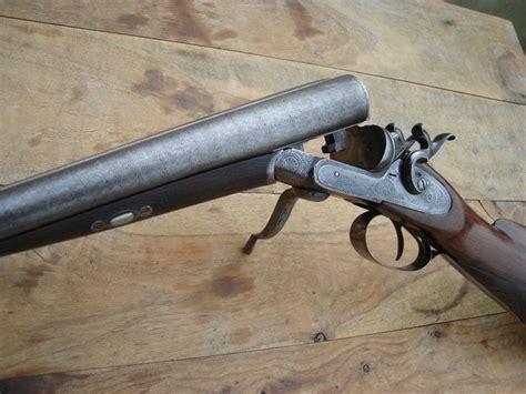 jachtgeweer vergunning een zeer fraai gegraveerd engels antiek cal 12 zwartkruit