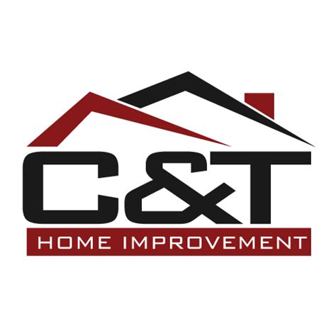 logo design c t home improvement logo spring grove pa