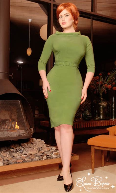 Joan Green anachronistic style mad style dresses
