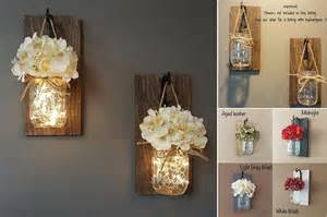 home interior wall sconces hanging mason jar sconces home design garden