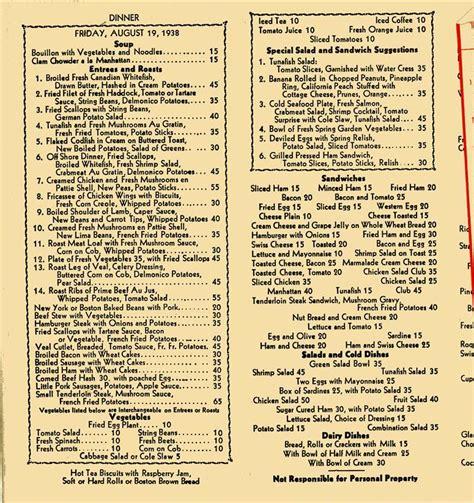 l post diner menu the great depression of 2006