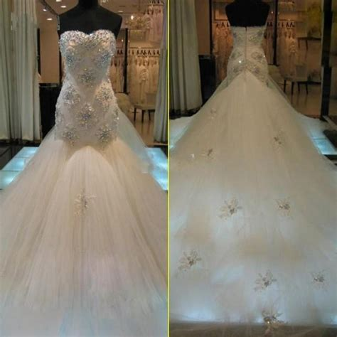 custom wedding dress real image mermaid 2015 wedding dresses sweetheart luxury