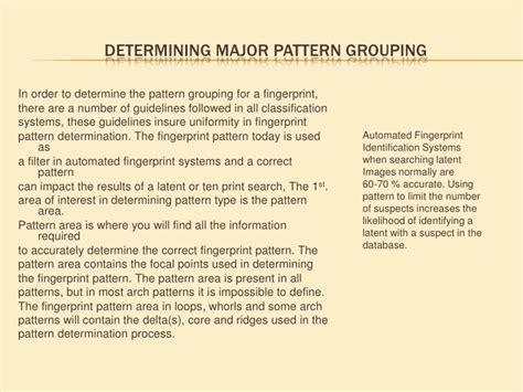 pattern identity theory sle sle pattern area training module
