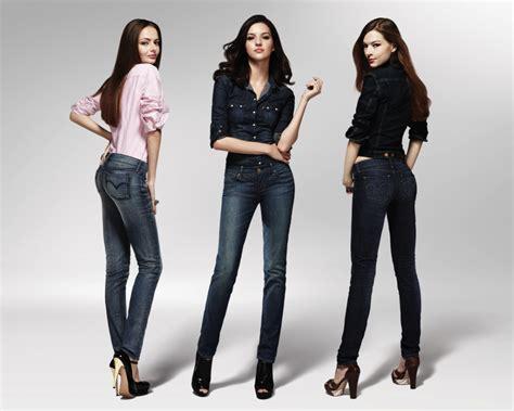 Jump Denim Pop Baju Wanita صور موديلات بنطلون جينز آخر صيحات موضة بناطيل الجينز
