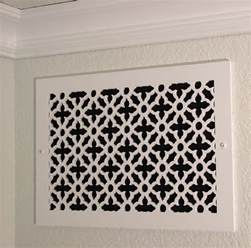 decorative heritage heating vent register cover