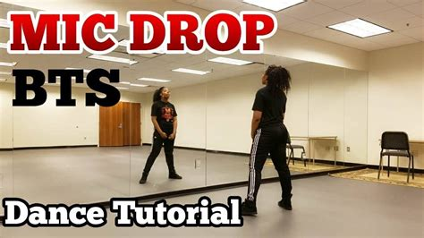 tutorial dance bts danger bts 방탄소년단 mic drop full dance tutorial youtube