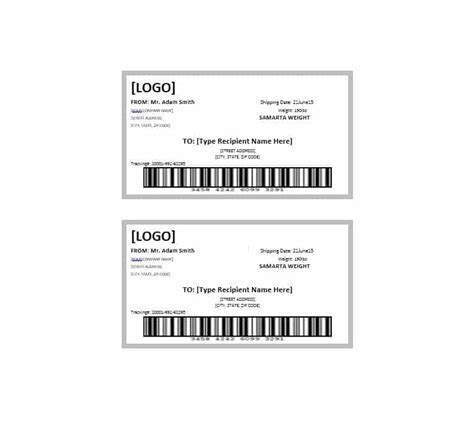 Package Address Label Template 36 fantastic label templates address shipping mailing