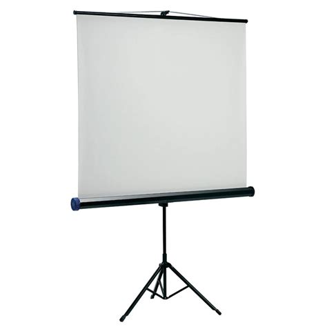 Screen Projector new nobo projection screen 1750 x 1750mm tripod projector ebay