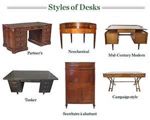 antique writing desk styles antique furniture