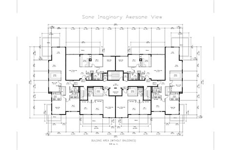 floor plan dwg prepossessing 60 apartment floor plans dwg inspiration