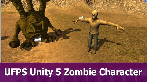 unity tutorial zombie ufps unity3d tutorial zombie game fps youtube