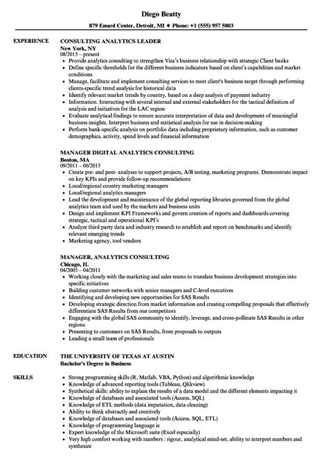 sas consultant sle resume network systems tester cover letter