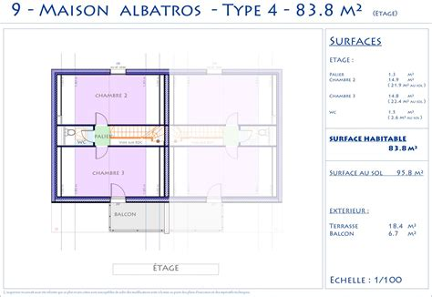 plan maison 4 chambres 騁age plan maison 4 chambres tage simple fabulous gallery of