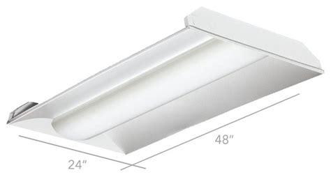 Alcon Lighting 2x4 Center Basket 14002 Led Recessed 2x4 Light Fixtures