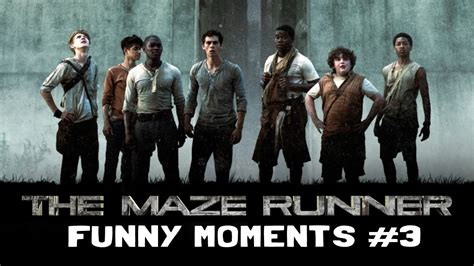 film maze runner ke 3 the maze runner cast funny moments part 3 youtube